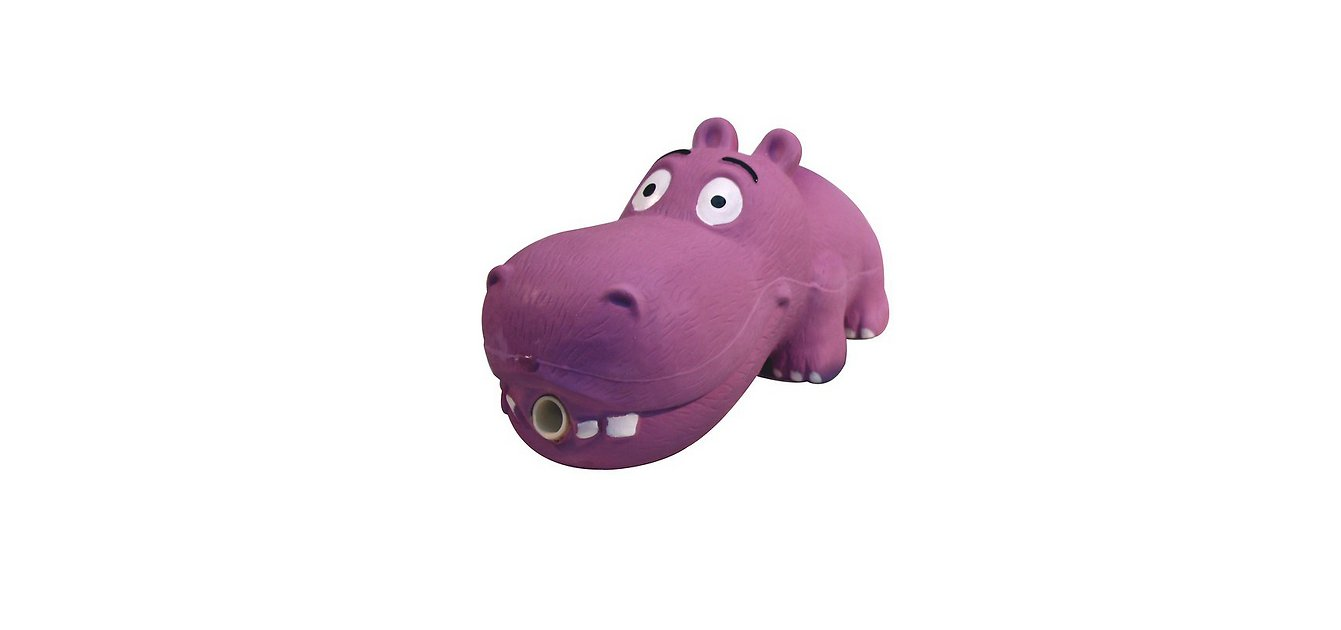 Multipet Latex Hippo Dog Toy, Color Varies - Chewy.com