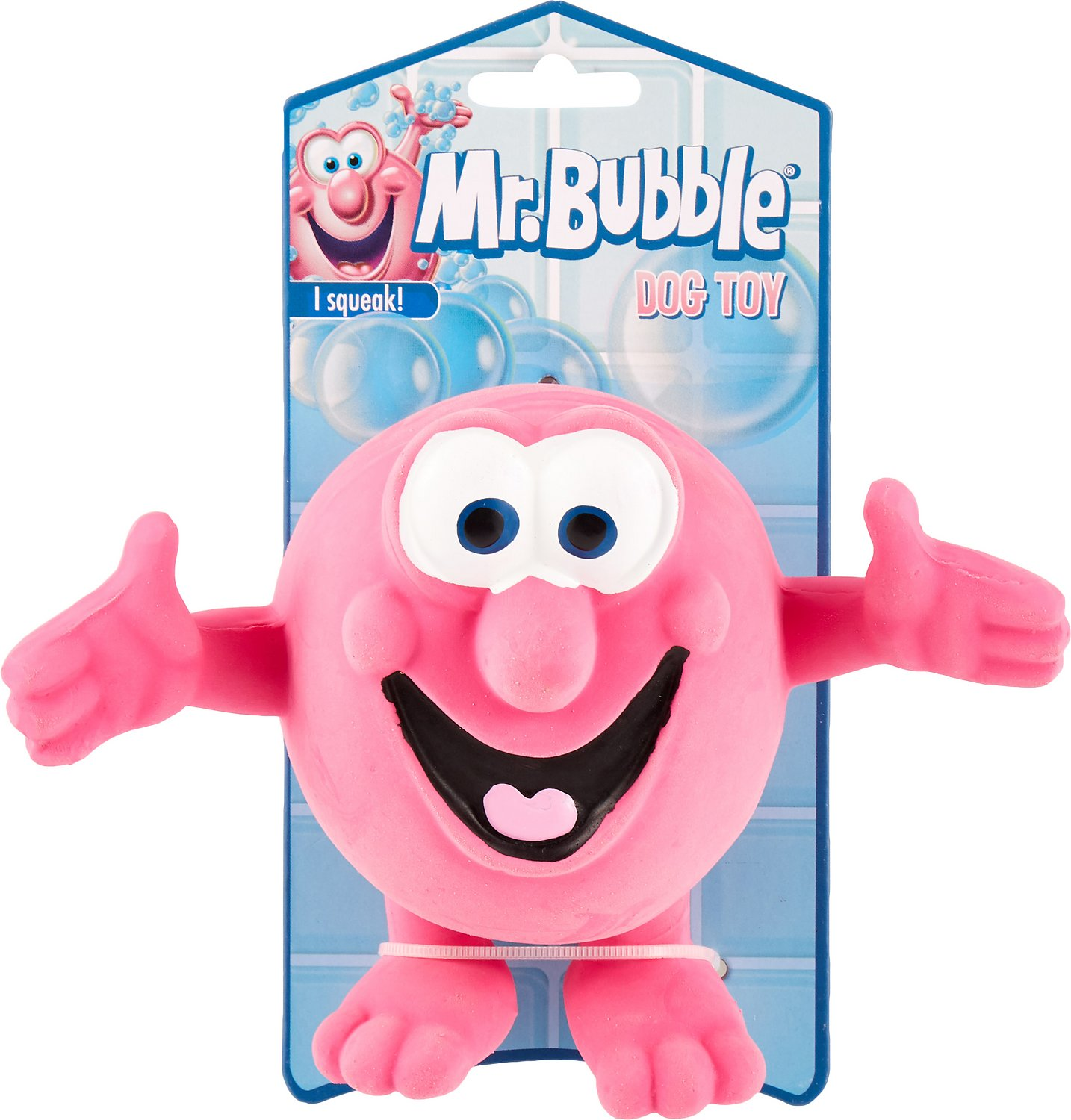 Multipet Mr Bubble Latex Dog Toy