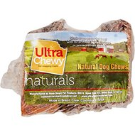 Ultra Chewy Sliced Beef Marrow Bone Dog Treats, 3 pack