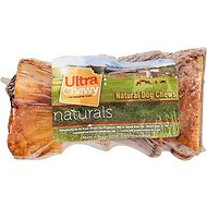 "Ultra Chewy 1"" Beef Marrow Bone Dog Treats, 4 count"