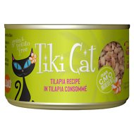 Tiki Cat Kapi'Olani Luau Tilapia in Tilapia Consomme Grain-Free Canned Cat Food, 6-oz, case of 8