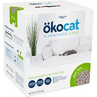 Okocat Natural Paper Dust Free Cat Litter, 8.2-lb box