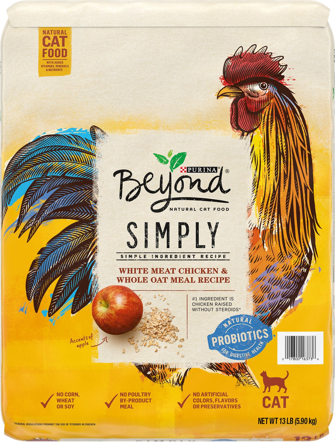 Purina beyond simply white meat chicken whole oat meal recipe dry purina beyond simply white meat chicken whole oat meal recipe dry cat food 13 lb bag chewy forumfinder Images