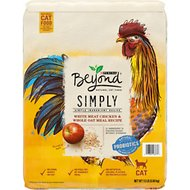 Purina Beyond Simply White Meat Chicken & Whole Oat Meal Recipe Dry Cat Food, 13-lb bag