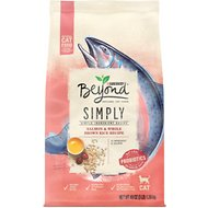 Purina Beyond Simply Salmon & Whole Brown Rice Recipe Dry Cat Food, 3-lb bag