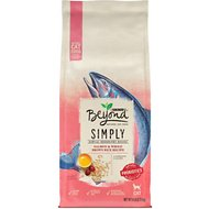 Purina Beyond Simply Salmon & Whole Brown Rice Recipe Dry Cat Food, 6-lb bag