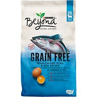 Purina Beyond Adventure Grain-Free Tuna & Egg Recipe Dry Dog Food, 3-lb bag