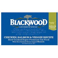 Blackwood Chicken, Salmon & Veggie Recipe Grain-Free Canned Cat Food, 6.52-oz, case of 24