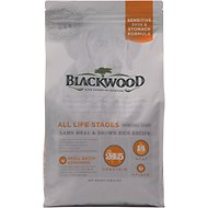 Blackwood Lamb Meal & Brown Rice Recipe Sensitive Skin & Stomach Formula Dry Dog Food, 5-lb bag