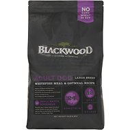 Blackwood Whitefish Meal & Oatmeal Recipe Large Breed Adult Dry Dog Food, 15-lb bag