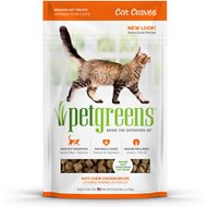 Pet Greens Cat Craves Roasted Chicken Semi-Moist Cat Treats, 3-oz bag