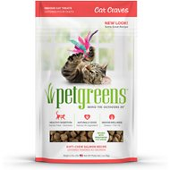Pet Greens Cat Craves Savory Salmon Semi-Moist Cat Treats, 3-oz bag