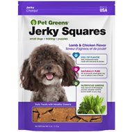 Pet Greens Lamb & Chicken Recipe Jerky Grain-Free Dog Treats, 4-oz bag