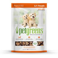 Pet Greens Roasted Chicken Semi-Moist Li'l Dog Treats, 6-oz bag