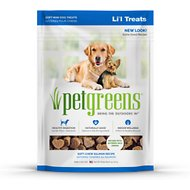 Bellrock Growers Pet Greens Healthy Salmon Semi-Moist Li'l Dog Treats, 6-oz bag