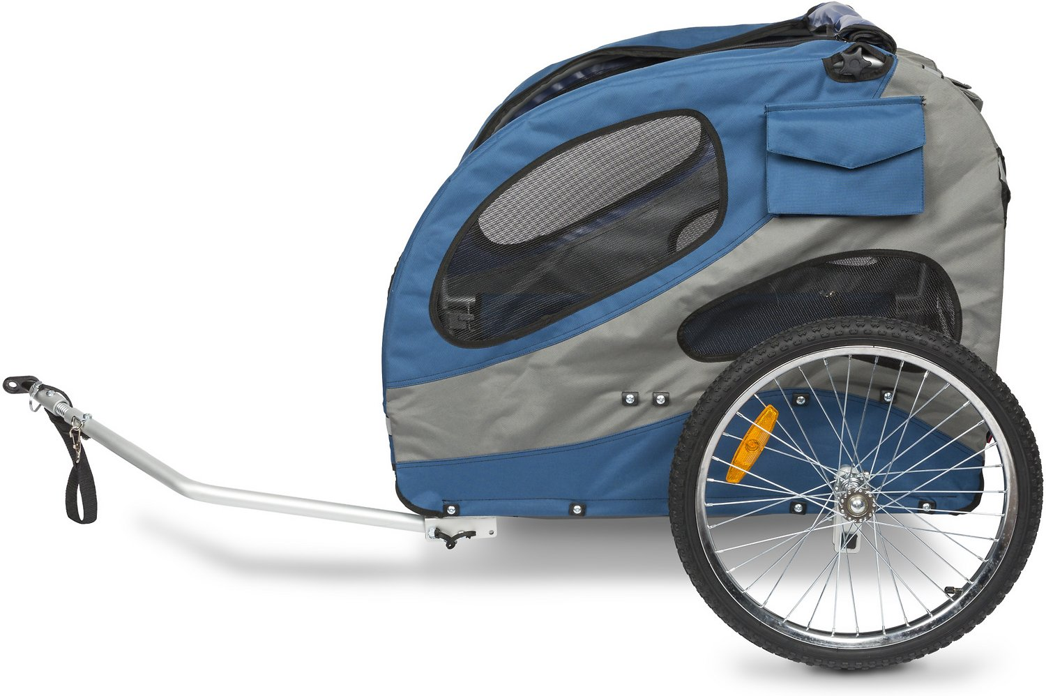 Solvit Houndabout Classic Steel Bicycle Trailer Large