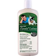 Sentry Natural Defense Flea Shampoo for Dogs, 12-oz bottle