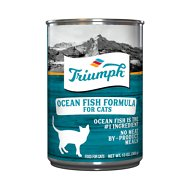 Triumph Ocean Fish Formula Canned Cat Food, 13.2-oz, case of 12