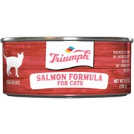 Triumph Salmon Formula Canned Cat Food, 5.5-oz, case of 24