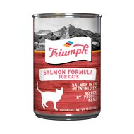 Triumph Salmon Formula Canned Cat Food, 13.2-oz, case of 12