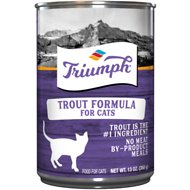 Triumph Trout Formula Canned Cat Food, 13.2-oz, case of 12