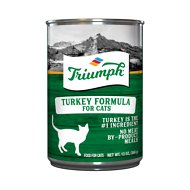 Triumph Turkey Formula Canned Cat Food, 13-oz, case of 12