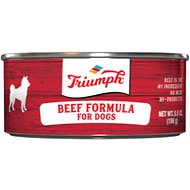 Triumph Beef Formula Canned Dog Food, 5.5-oz, case of 24