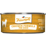 Triumph Chicken Formula Canned Dog Food, 5.5-oz, case of 24