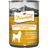 Triumph Chicken Formula Canned Dog Food, 13.2-oz, case of 12