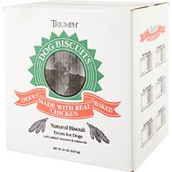 Triumph Assorted Flavors Puppy Biscuits Dog Treats, 20-lb box