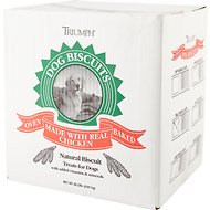 Triumph Small Original Biscuits Dog Treats, 20-lb box