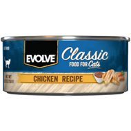 Evolve Chicken Formula Canned Cat Food, 5.5-oz, case of 24