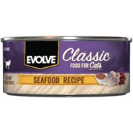 Evolve Seafood Formula Canned Cat Food, 5.5-oz, case of 24