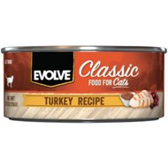 Evolve Turkey Formula Canned Cat Food, 5.5-oz, case of 24