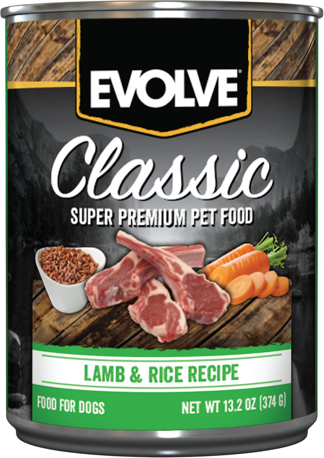Evolve Canned Dog Food