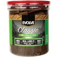Evolve Classic Lamb & Brown Rice Recipe Dog Treats, 22-oz jar