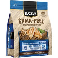Evolve Chicken & Chickpea Recipe Kitten Formula Grain-Free Dry Cat Food, 2.75-lb bag