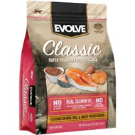 Evolve Deboned Salmon, Rice & Sweet Potato Formula Dry Cat Food, 2.75-lb bag