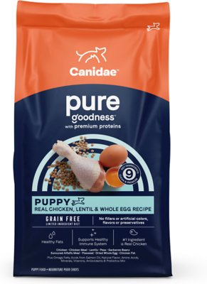 7. CANIDAE Grain-Free Pure Puppy Dry Dog Food