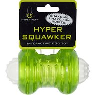 Hyper Pet Hyper Squawkers Dog Chew Toy, Bone