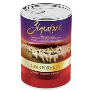 Zignature Lamb Limited Ingredient Formula Grain-Free Canned Dog Food, 13-oz, case of 12