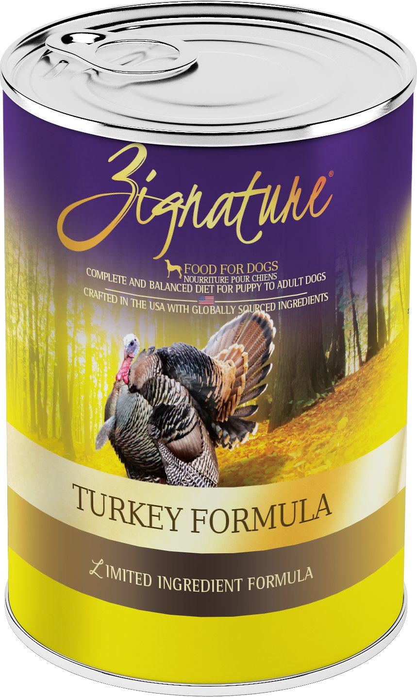 Zignature Turkey Canned Dog Food