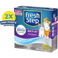 Fresh Step Multi-Cat Scoopable Clumping Cat Litter, 14-lb box
