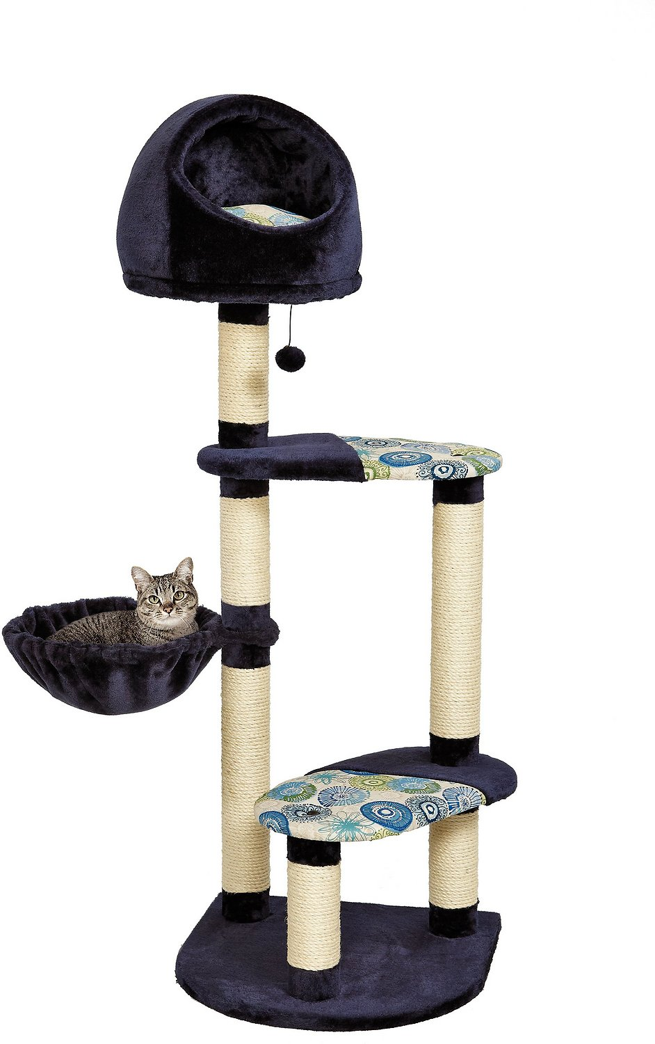 Midwest Feline Nuvo Resort 60 Inch Cat Tree Chewy Com