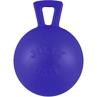 Jolly Pets Tug-n-Toss M-ini Dog Toy, Blue, 4-in