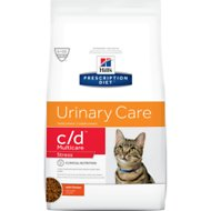 Hill's Prescription Diet c/d Multicare Urinary Care Stress with Chicken Dry Cat Food, 6.35-lb bag