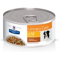 Hill's Prescription Diet c/d Multicare Urinary Care Chicken & Vegetable Stew Canned Dog Food, 5.5-oz, case of 24