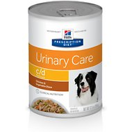 Hill's Prescription Diet c/d Multicare Urinary Care Chicken & Vegetable Stew Canned Dog Food, 12.5-oz, case of 12