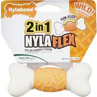 Nylabone Nylaflex Weave Dog Chew Bone, Small