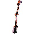 Mammoth Cottonblend 3 Knot Dog Rope Toy, Color Varies